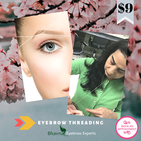 Eyebrow Threading July Deal